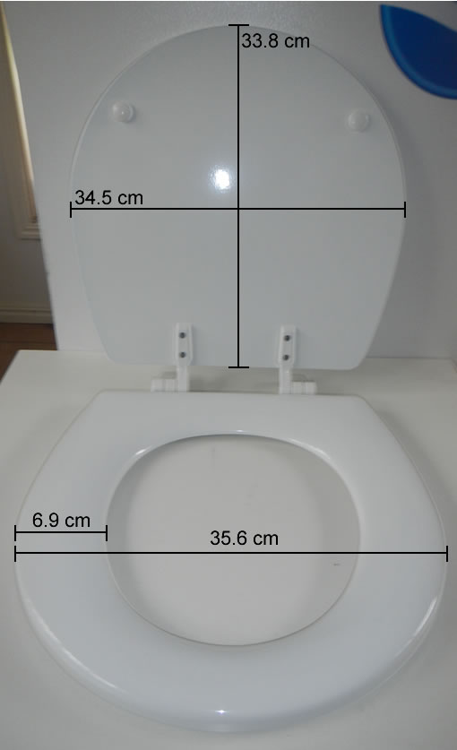 sealand tm60 toilet seat small